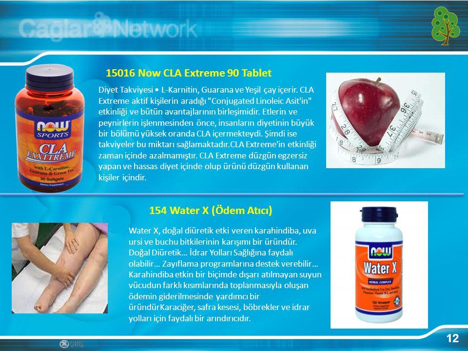 12 15016 Now CLA Extreme 90 Tablet Diyet Takviyesi L-Karnitin, Guarana ve Yeşil çay içerir. CLA Extreme aktif kişilerin aradığı