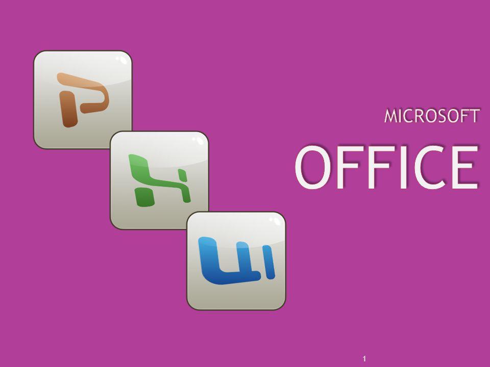 Office Paketi içinde bazı programlar bulunur.
