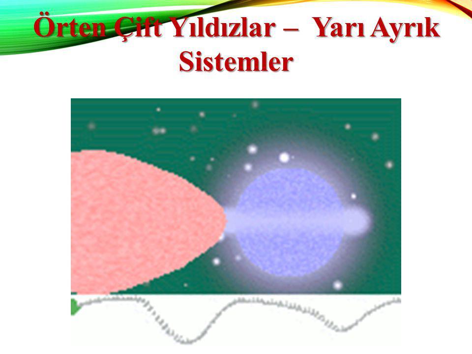 Örten Çift Yıldızlar – Yarı Ayrık Sistemler