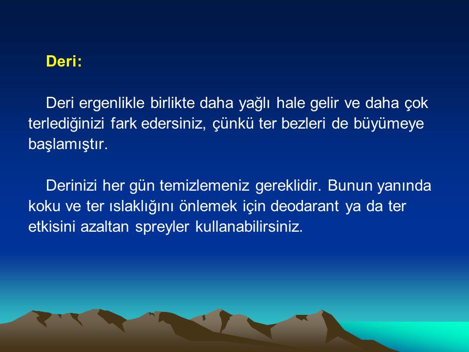 SİVİLCELERDE NELERE DİKKAT EDİLMELİ 1.