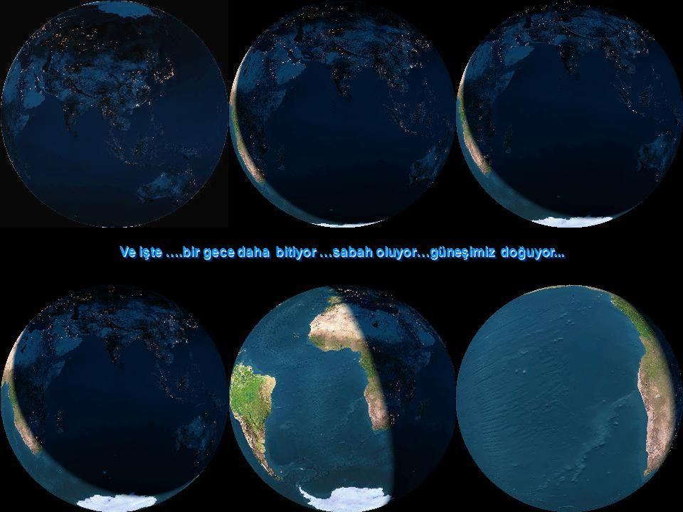 Biz, hepimiz bu küçücük mavi noktanın içindeyiz.Tüm küresel kavgalarımız, savaşlarımız...