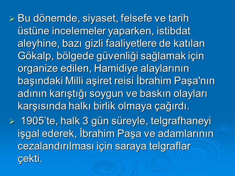 .Hareket Ordusu İstanbul'a girmiş, Abdülhamit tahtından indirilmiş(14 Nisan 1909), yerine Sultan Reşat padişah olmuştur.