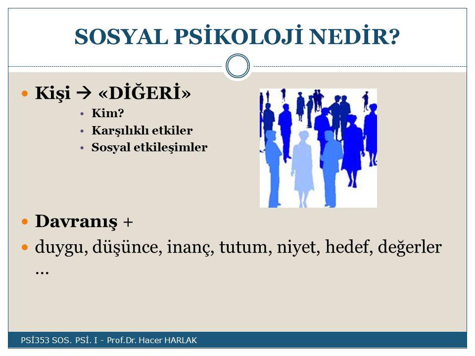 Sosyal Ψ'deki temel kuramsal bakış açıları Roller ve kurallar bakış açısı  Rol  Kural  İnsan davranışlarını içselleştirilmiş kurallara veya günlük hayatta oynanan rollerle açıklamaktadır.