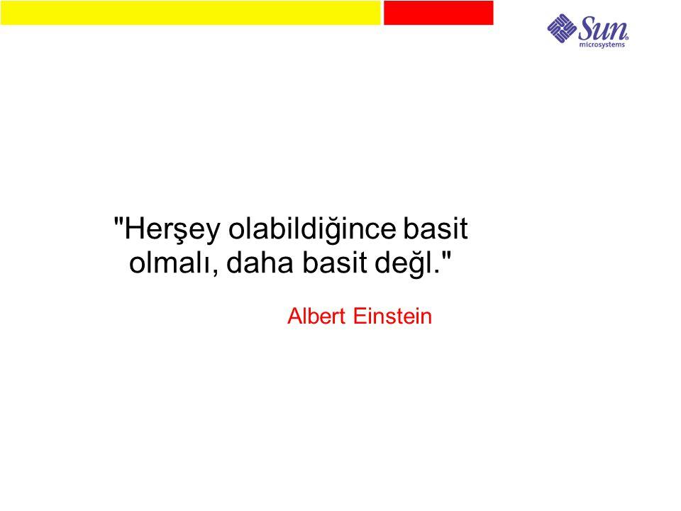 Herşey olabildiğince basit olmalı, daha basit değl. Albert Einstein