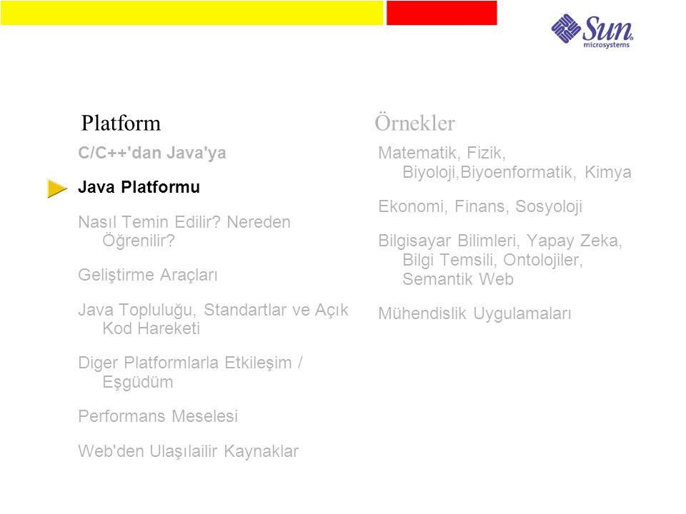 C/C++ dan Java ya Java Platformu Nasıl Temin Edilir.