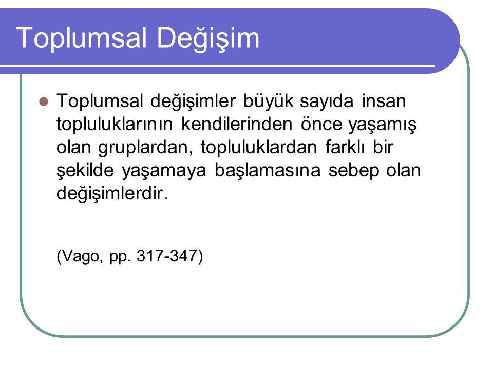 Hukuk Toplumsal Değişim 2.