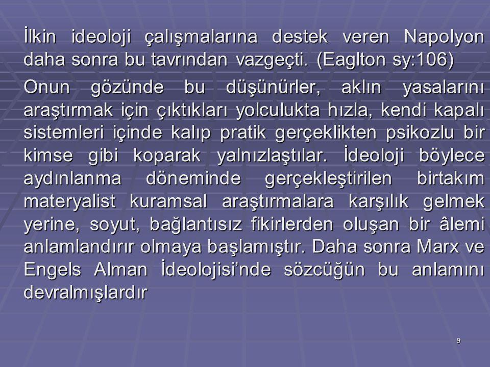 30 Althusser, Lacan: İdeoloji, Öznenin Oluşumu ve Dilin Önemi İdeoloji birçok siyasal bilimci için vazgeçilmez bir kavram olmuştur.