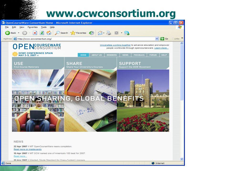 www.ocwconsortium.org