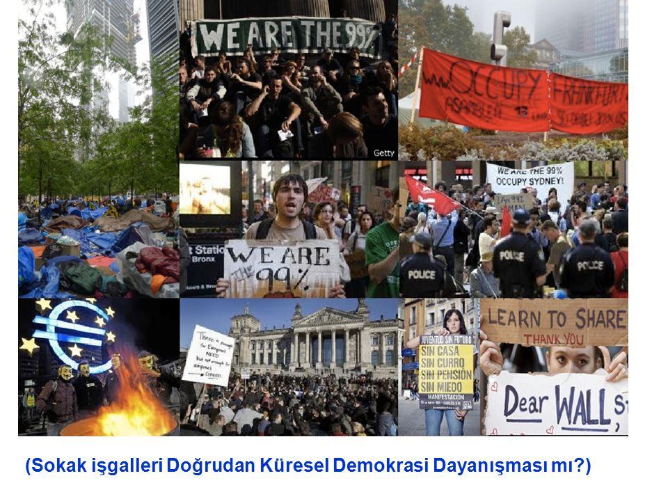 (Sokak işgalleri Doğrudan Küresel Demokrasi Dayanışması mı?)