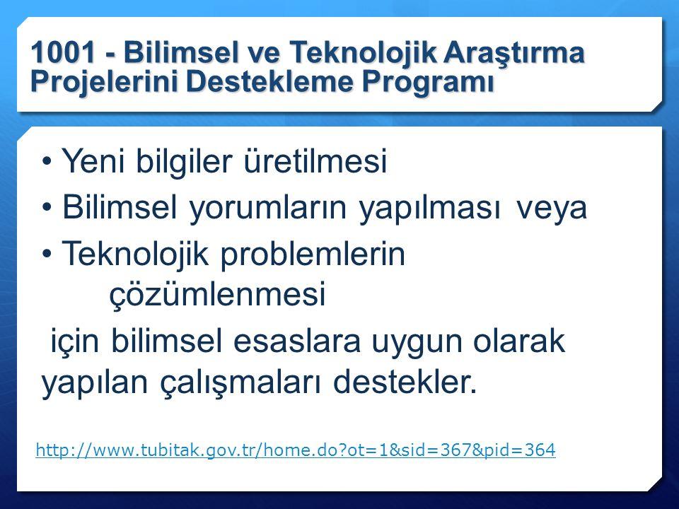 Projenin Yapılabilirliği ile ilgili kriterler: Ekipman/Ortam
