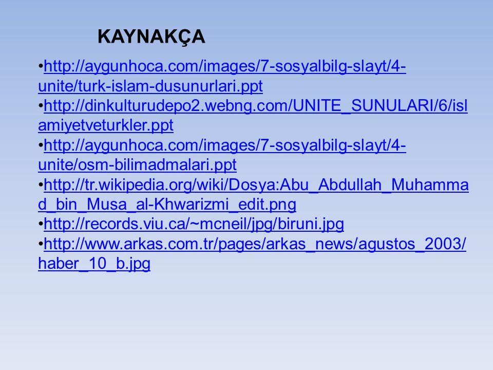 http://aygunhoca.com/images/7-sosyalbilg-slayt/4- unite/turk-islam-dusunurlari.ppthttp://aygunhoca.com/images/7-sosyalbilg-slayt/4- unite/turk-islam-d