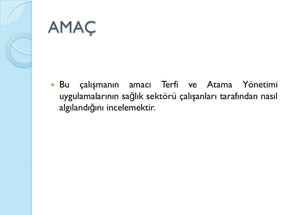 METOD 2012 yılı Mayıs ayında Mersin ilindeki sa ğ lık kurumlarında anket çalışması ile kesitsel bir araştırma yapılmıştır.