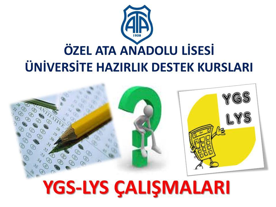 2010-ÖSYS Sunum, İstanbul 29 Ağustos 2009 2015- ÖSYS İkinci Aşama : Lisans Yerleştirme Sınavları (LYS)  Sınavlar, Testler ve Soru Sayıları Sosyal Bilimler Sınavı LYS-4 : 13 Haziran 2015 – Cumartesi Tarih testi: 44 Soru, 65 dakika Coğrafya-2 testi: 14 Soru, 20 dakika Felsefe Grubu testi: 32 Soru, 50 dakika - Psikoloji 8 - Sosyoloji 8 - Mantık 8 - Din Kültürü ve Ahlak Bilgisi 8 TOPLAM : 90 Soru, 135 dakika 1) Tarih, Coğrafya-2 ve Felsefe Grubu testleri için ayrı Soru Kitapçıkları kullanılacaktır.