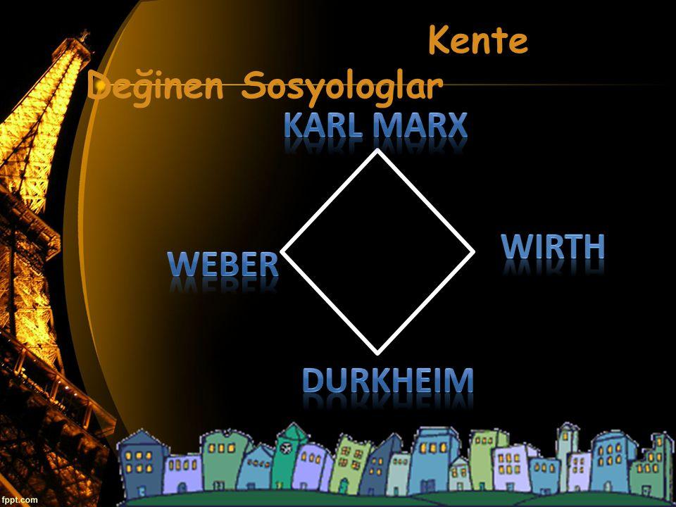 Kente Değinen Sosyologlar