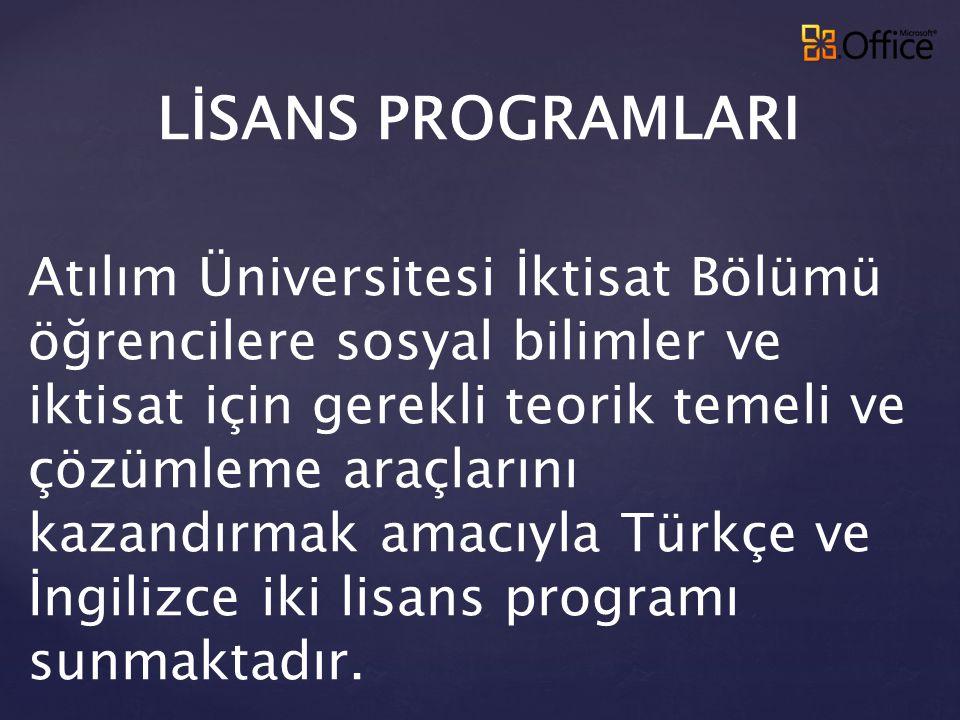 Kolokyum (Kasım 2008): Küresel Mali Kriz ve Türkiye ye Etkileri
