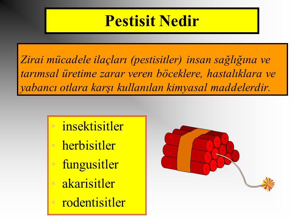 Zirai mücadele ilaçları (pestisitler) insan sağlığına ve tarımsal üretime zarar veren böceklere, hastalıklara ve yabancı otlara karşı kullanılan kimyasal maddelerdir.
