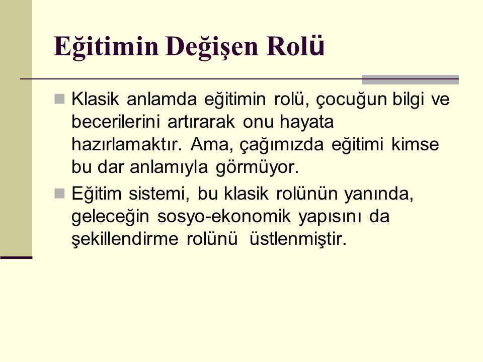 CUMHURİYET EĞİTİMİNİN HAZIRLIK DÖNEMİ (1920-1923) Hamdullah Suphi Bey: Yeni Türkiye de çocuklar hayat için hazırlanacaklar, Mektep, bir iş evidir, esnaf ocağıdır.