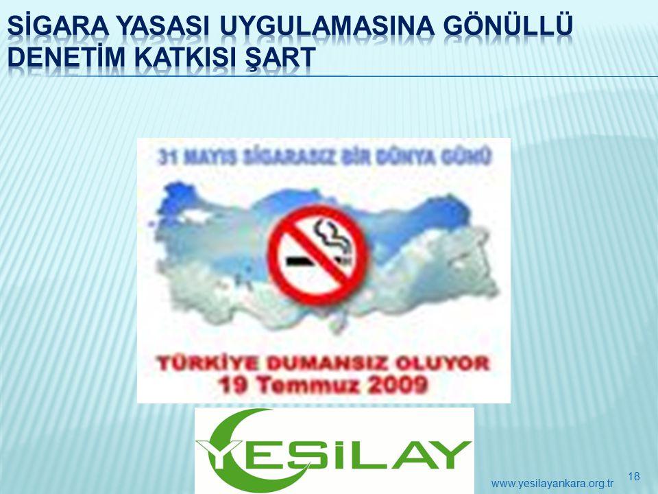 18 www.yesilayankara.org.tr