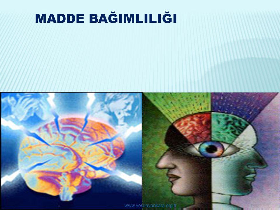 31 MADDE BAĞIMLILIĞI www.yesilayankara.org.tr