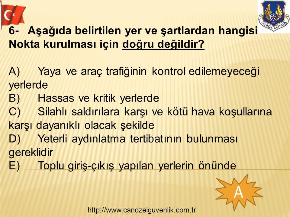 http://www.canozelguvenlik.com.tr E 7- ÖGG Murat ve Hakan devriye görevini yaparken adli görevleri ile ilgili bilgilerden hangisi doğru değildir.