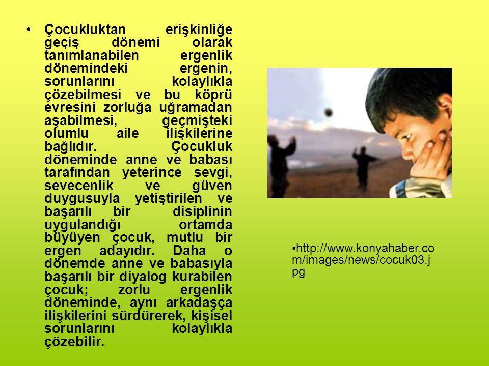 Sağlıklı tutum: Ailenin çocuğa karşı tutumunun iki temel öğesi vardır; 1.