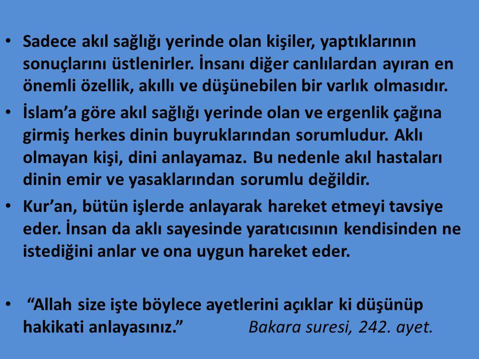 KUR'AN-I KERİM DE BÜTÜN BİLGİLER VARMIDIR .
