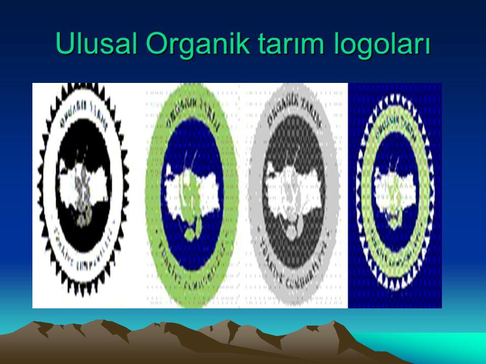 Ulusal Organik tarım logoları