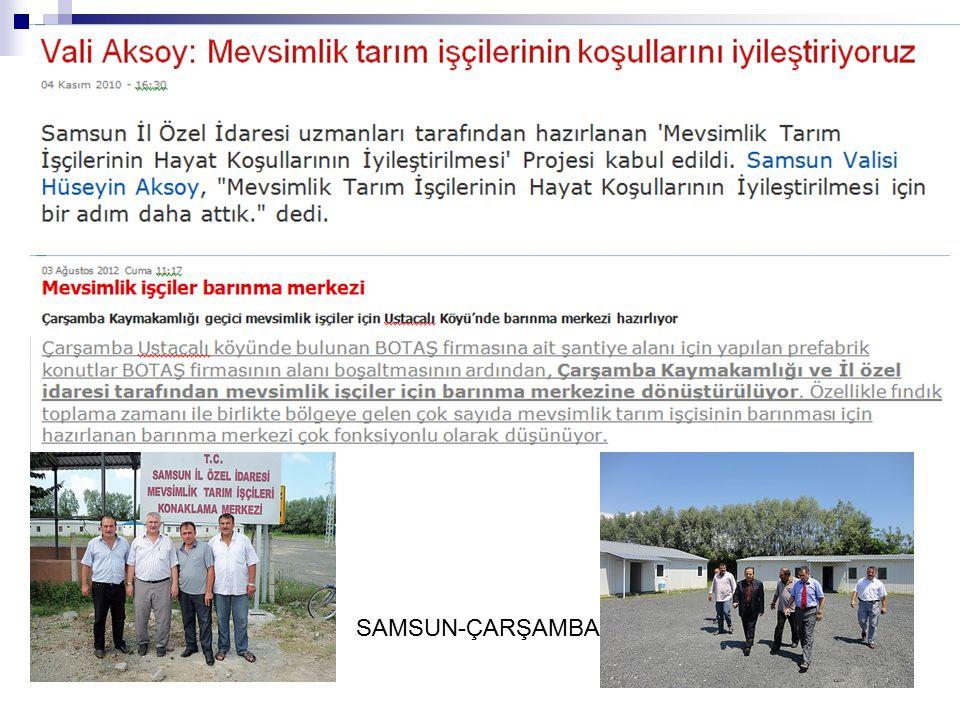 SAMSUN-ÇARŞAMBA