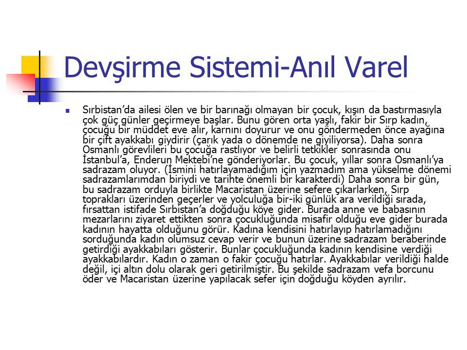 Osmanlı İmtiyazlı Eyaletleri 2.