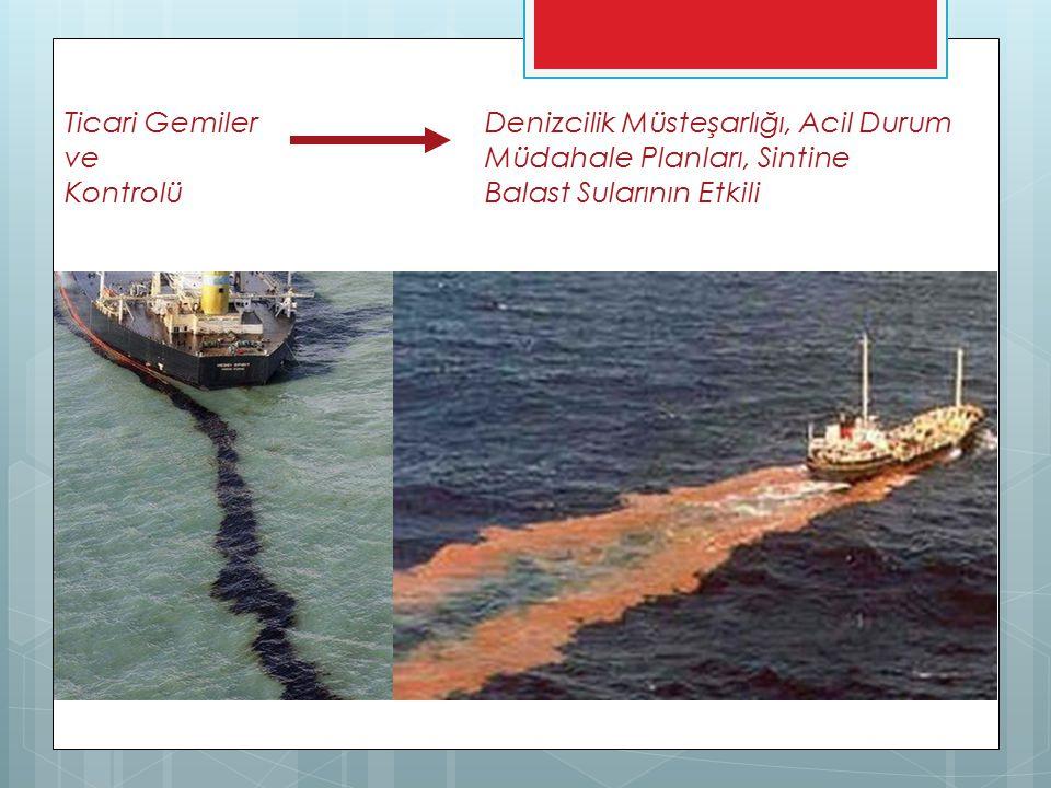 Ticari Gemiler Denizcilik Müsteşarlığı, Acil Durum ve Müdahale Planları, Sintine Kontrolü Balast Sularının Etkili