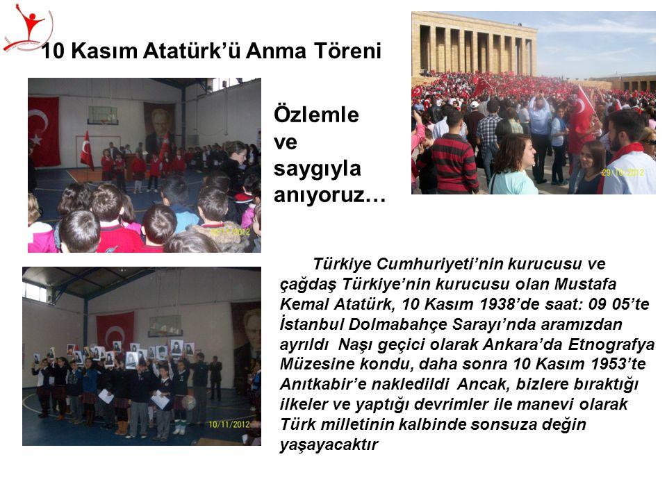 Türkiye Cumhuriyeti'nin kurucusu ve çağdaş Türkiye'nin kurucusu olan Mustafa Kemal Atatürk, 10 Kasım 1938'de saat: 09 05'te İstanbul Dolmabahçe Sarayı