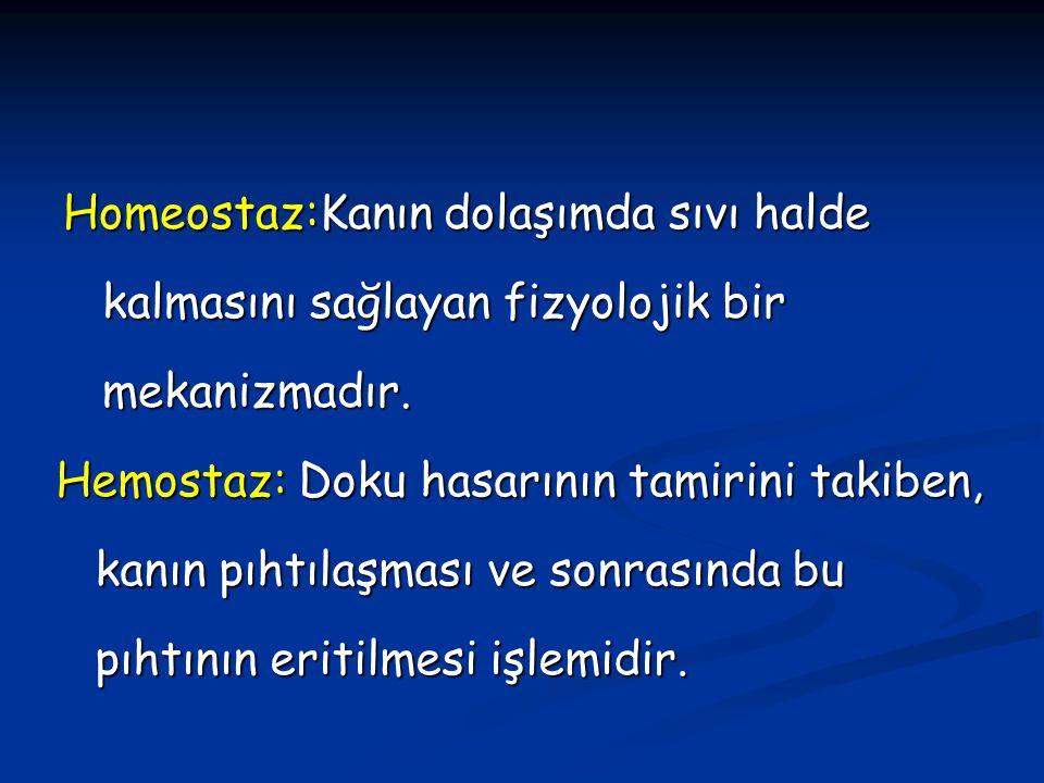 TROMBOSİT HASTALIKLARI 1.