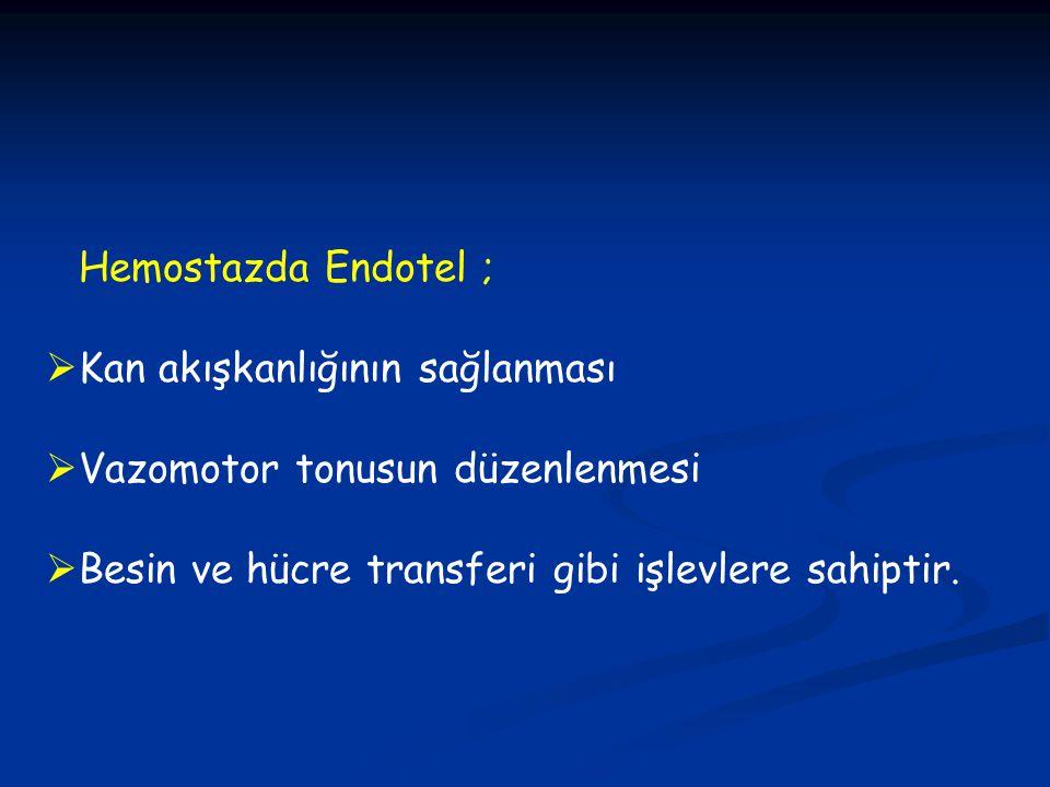 TROMBOTİK TROMBOSİTOPENİK PURPURA (TTP) ve HEMOLİTİK ÜREMİK SENDROM (HÜS) -E.