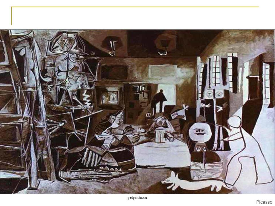 yetginhoca BU RESİM DE NELER GÖRÜYORUZ ? Picasso