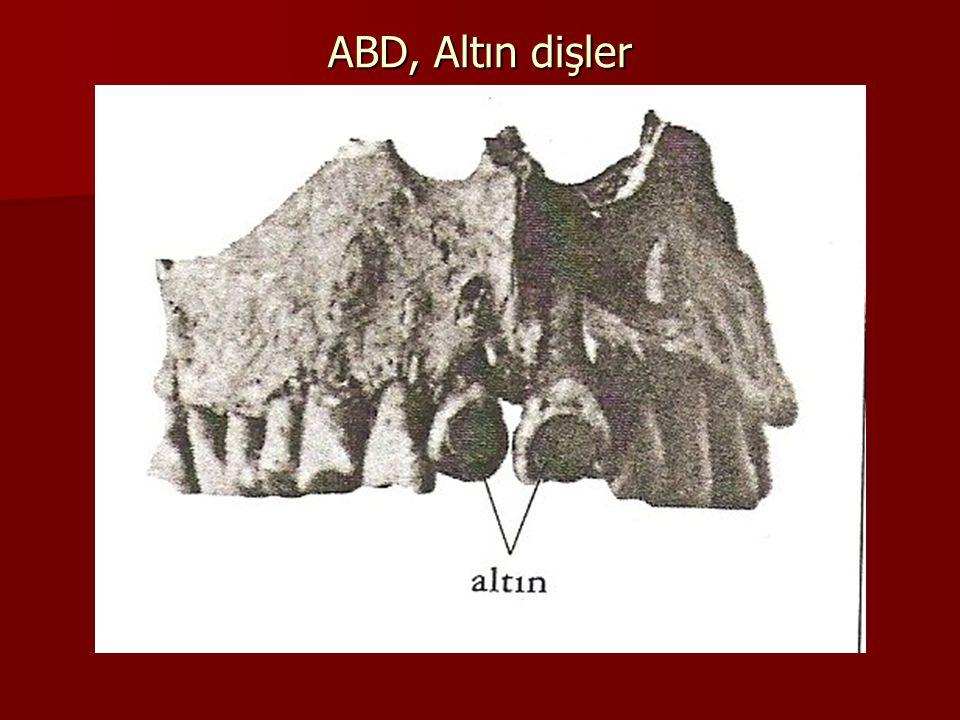 Bulgular Sifilize ait kemik deformiteleri Sifilize ait kemik deformiteleri Kuzey bölgelerde raşitizm bulguları Kuzey bölgelerde raşitizm bulguları Safra/böbrek taşı, konjenital anomaliler Safra/böbrek taşı, konjenital anomaliler Eski Mısır mumyalarında arterioskleroz, pnömoni, taş, parazit Eski Mısır mumyalarında arterioskleroz, pnömoni, taş, parazit