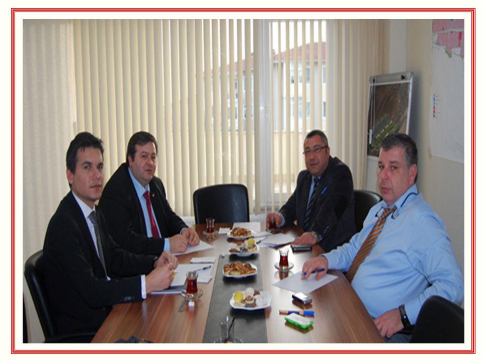Baykara İnş. Ltd. Şti. Yetkilileri; Hakan Baykara ve Süha Eğilmez Ziyaretinden