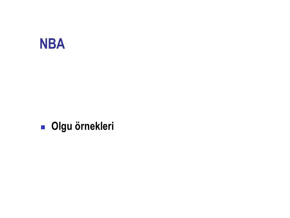 NBA Olgu örnekleri