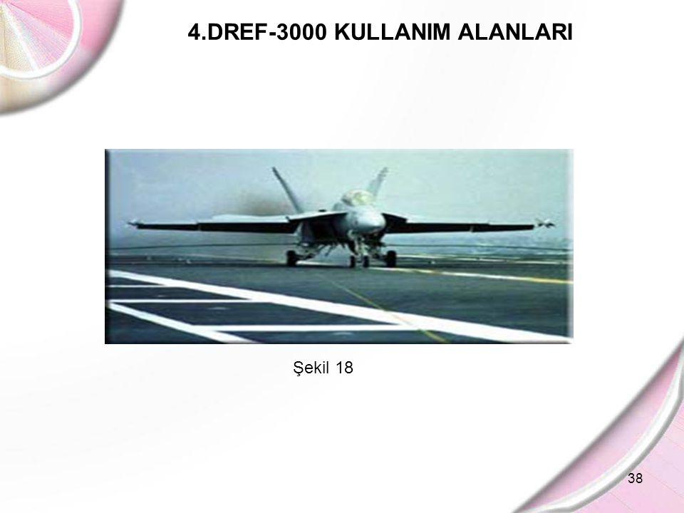 38 4.DREF-3000 KULLANIM ALANLARI Şekil 18