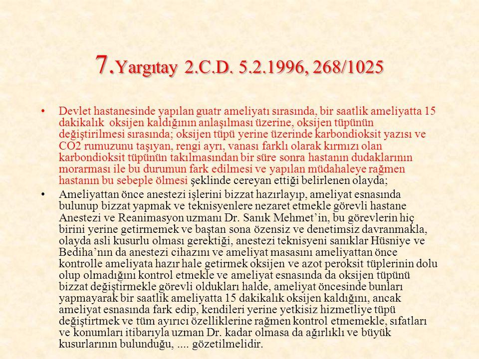 7.Yargıtay 2.C.D.