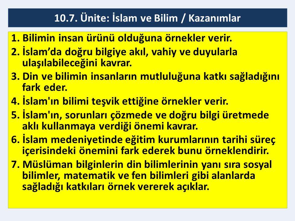 İslam Medeniyetinde Eğitim Kurumları Camiler ve Küttablar (İlköğretim) Yapılan eğitim faaliyetleri:  Okuma yazma  Matematik  Kur'an-ı Kerim  Tefsir  Hadis  Fıkıh  Siyer