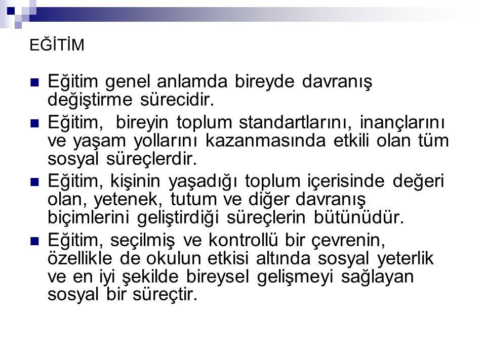 1953-1954 öğretim yılında Bolu ve İstanbul'daki deneme okullarında uygulanmaya başlanmıştır.Daha sonra 1954-1955 öğretim yılında ortaöğretim düzeyinde İstanbul Atatürk KızLisesi Deneme Okulu ProgramKomisyonu tarafından taslak program hazırlanmış ve uygulanmıştır.Bu çalışmalar ülkemizdeki program geliştirme çalışmalarının öncüsü sayılmaktadır.