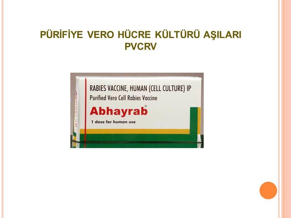 PÜRİFİYE VERO HÜCRE KÜLTÜRÜ AŞILARI PVCRV