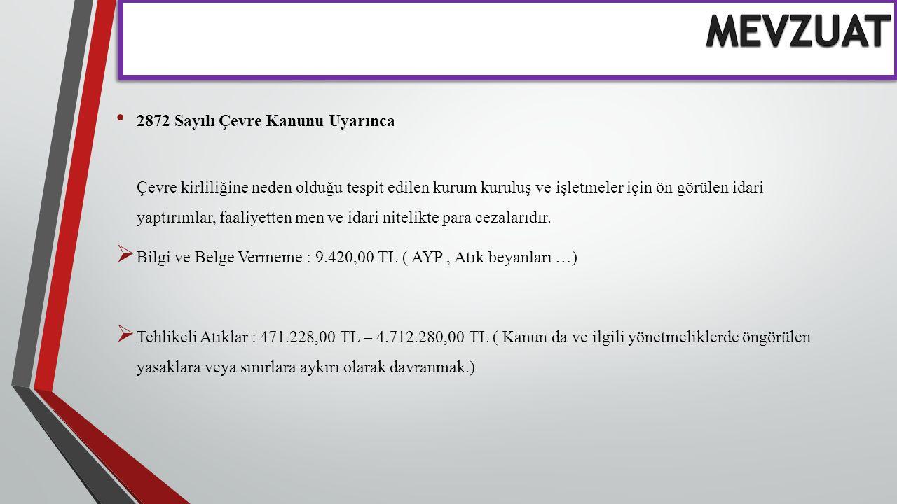 Türkiye Atom Enerjisi Kurumu mevzuatı hükümlerine göre toplanıp uzaklaştırılır. Radyoaktif Atıklar
