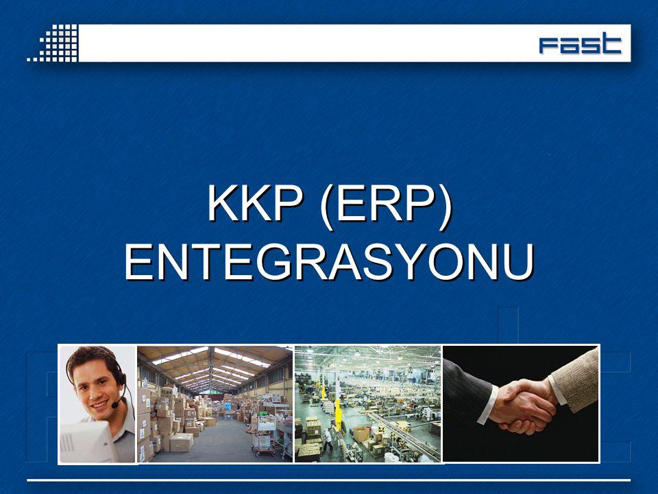 KKP (ERP) ENTEGRASYONU