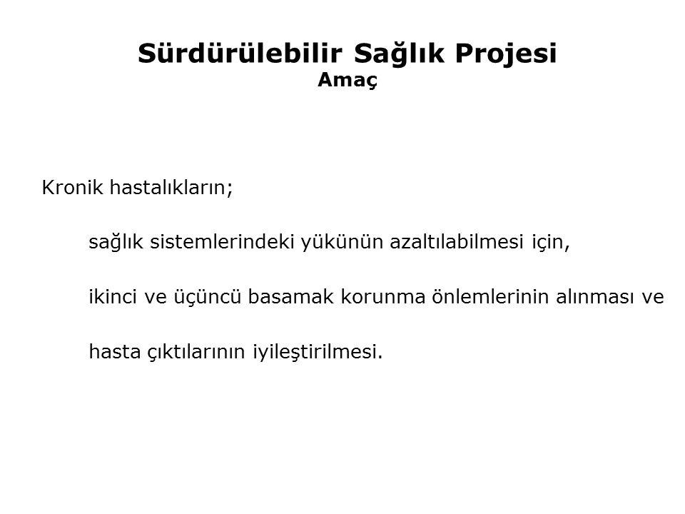 Sürdürülebilir Sağlık Projesi Türkiye Proje Örnekleri; Klinik uygulamaların vatandaşa etkisi ve geliştirilme yolları İstanbul Tıp Fakültesi TeleDiab Projesi (İstanbul Üniversitesi) Gerekçe Diyabetlilerde; kan şekeri düzeyi, tedaviye uyum, komplikasyon ve eşlik eden hastalık gibi parametrelerin uzaktan takip ihtiyacı, Süreç Toplam 182 çalışma ve kontrol grubu hastasında; Kapiller kan glukoz ve kan basıncı ölçümlerinin elektronik iletimi, Senkronize video-konferans, güvenli mesajlaşma, Rutin takip testleri ve muayenelerin hatırlatılması,web-temelli eğitim materyali sunumu Sonuç İlk 6 aylık sonuçlarda bile, uzaktan takip ile açlık kan glukoz düzeyi 167.5'den 149.1'e, HbA1c düzeyi ise 8.04'den 7.48'e düşmüş, Teknolojiden yararlanılarak uzaktan takip aracılığı ile yönlendirilmesinin ilgili parametrelerde anlamlı iyileşmeler sağlanabileceği görülmüştür.
