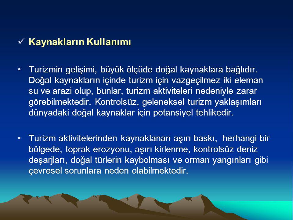Bakanlığımızca Yaptırılan Altyapı Tesisleri (2011 yılı itibarıyla) Antalya, Muğla, Nevşehir, Balıkesir, Çanakkale, illerinde toplam 33 adet atık su arıtma tesisi, Antalya, Muğla, Kars ve İzmir illerinde 8 adet içme suyu tesisi, Antalya, Muğla, Kars, İzmir ve Nevşehir de 17 adet kanalizasyon kolektör hattı, Karsta 2 adet telesiyej tesisi, İzmir çeşme Ildır'da geçirimsiz perde inşaatı, Antalya Kemer ve Manavgat da iki adet düzenli depolama ve kompost tesisi.