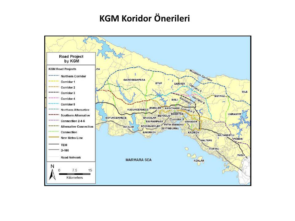 KGM Koridor Önerileri