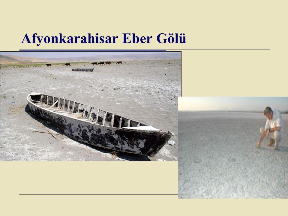 Afyonkarahisar Eber Gölü