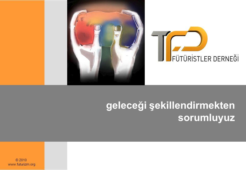 © 2010 www.futurizm.org geleceği şekillendirmekten sorumluyuz