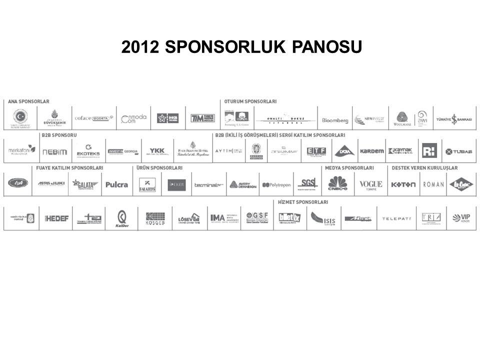 2012 SPONSORLUK PANOSU